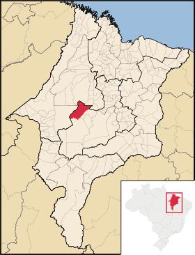 mapa do maranhão
