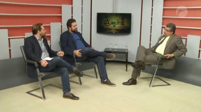 Vereador Marcial Lima no programa Os Analistas