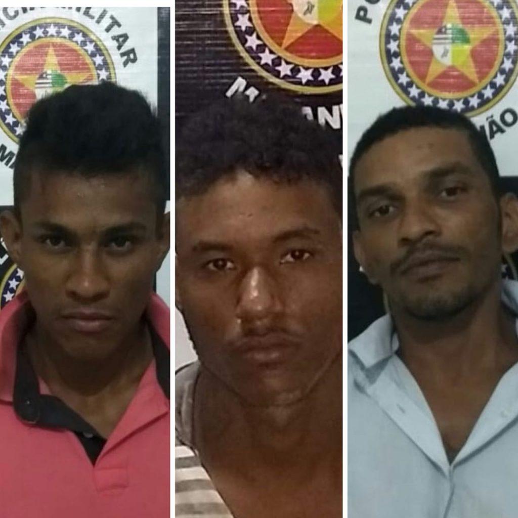 Suspeitos de série de roubos