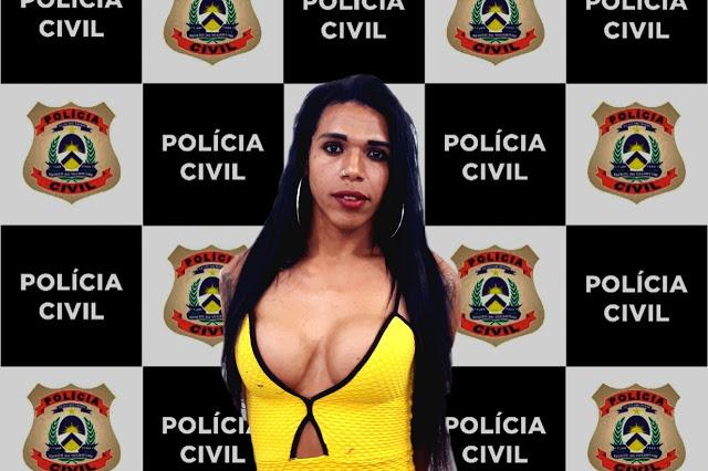 Travesti preso em Imperatriz