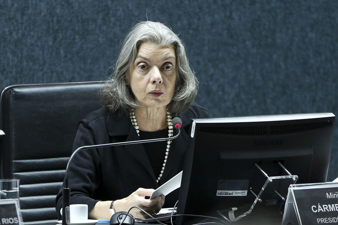 Presidente do STF, Carmén Lúcia