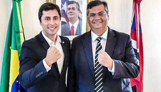 Duarte Júnior e Flávio Dino