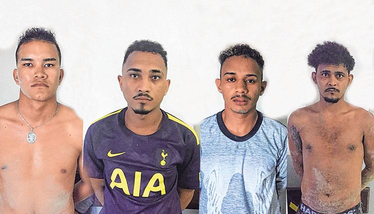 Suspeitos detidos por assalto a posto