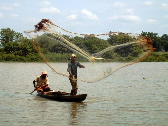 Pescadores no Rio Mearim