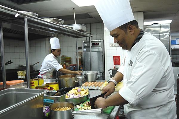 cozinheiro do sesc