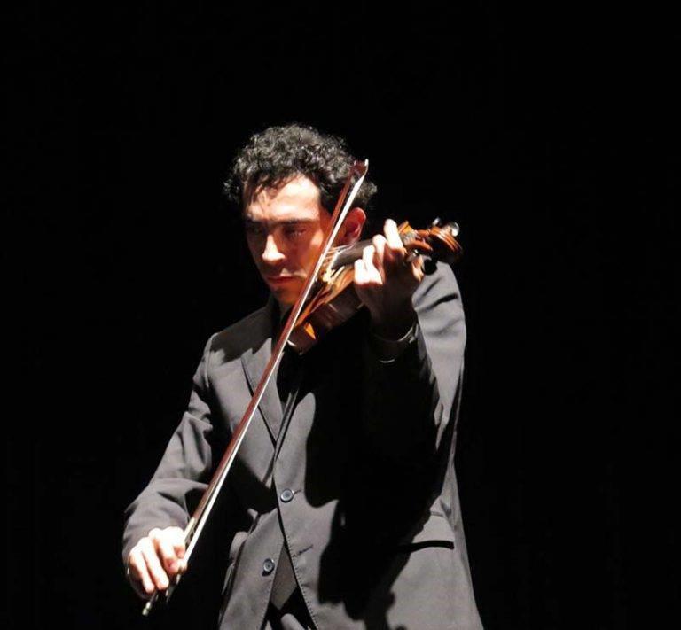 violinista Matteo Cossu
