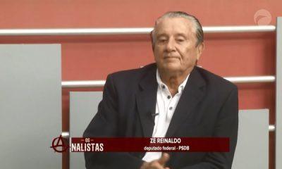 Deputado Zé Reinaldo no programa Os Analistas