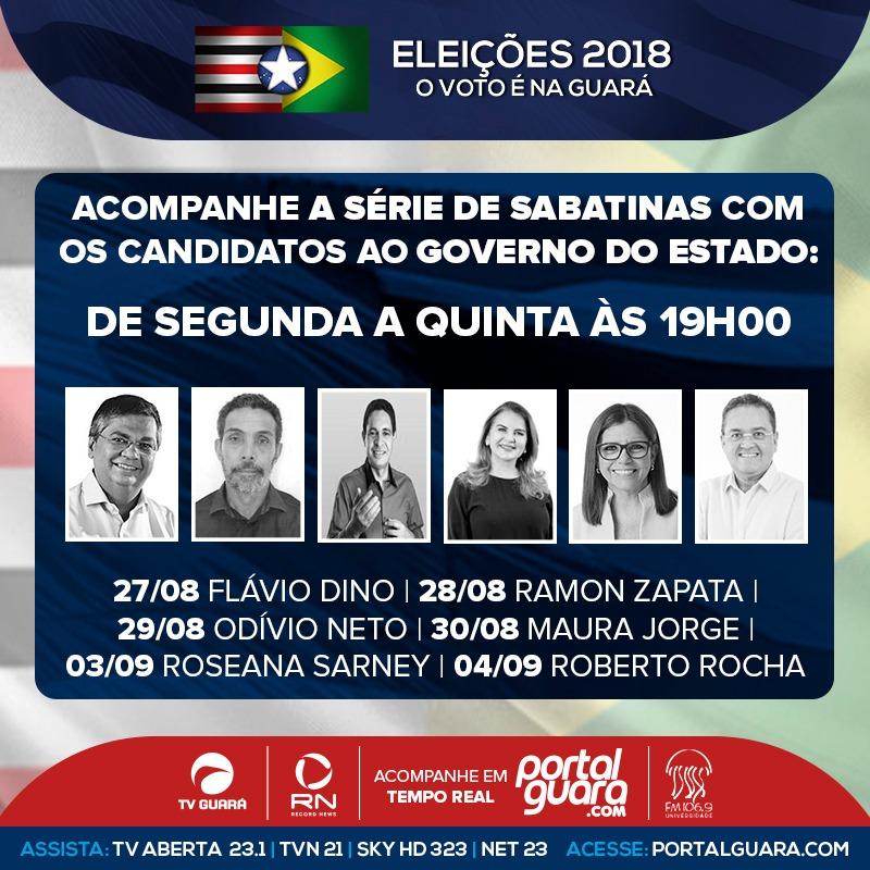 candidatos a governador do maranhão