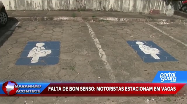 Motoristas não respeitam vagas especiais em estacionamentos