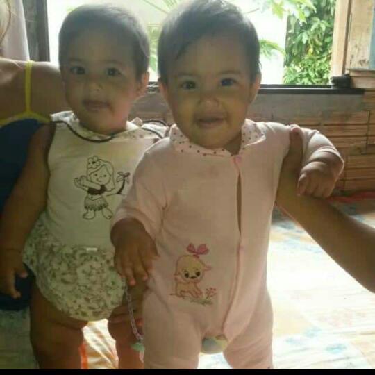 irmãs gêmeas mortas em incendio