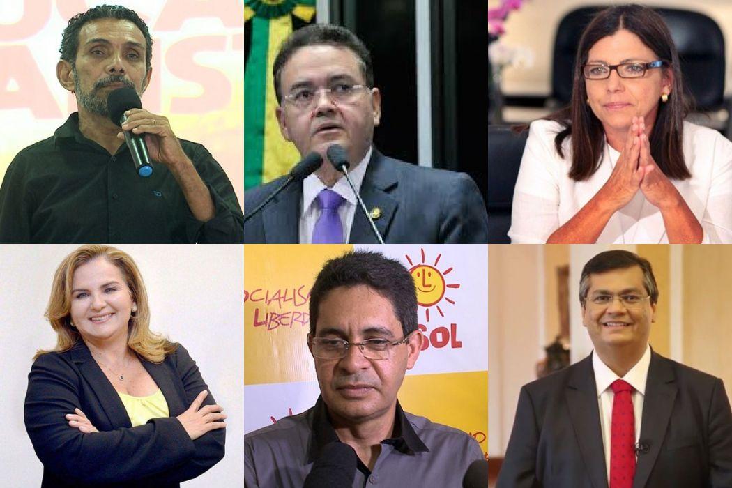 candidatos ao governo