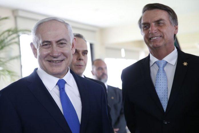 Bolsonaro e Netanyahu se encontraram às vésperas da posse do presidente brasileiro - Fernando Frazão/Arquivo/Agência Brasil