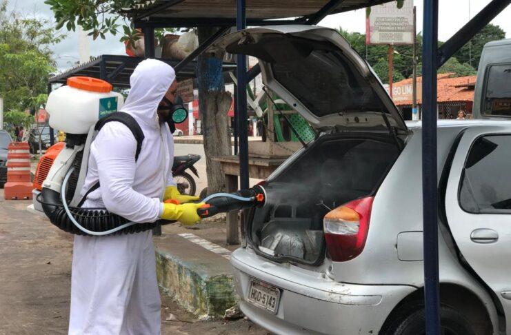 Ação promove sanitização gratuita de veículos em São Luís