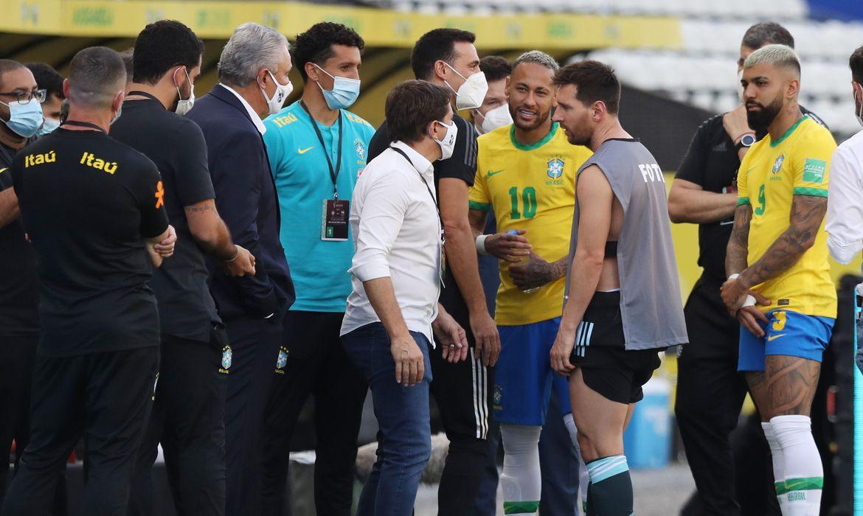 Eliminatórias: Fifa investiga jogo entre Brasil e Argentina