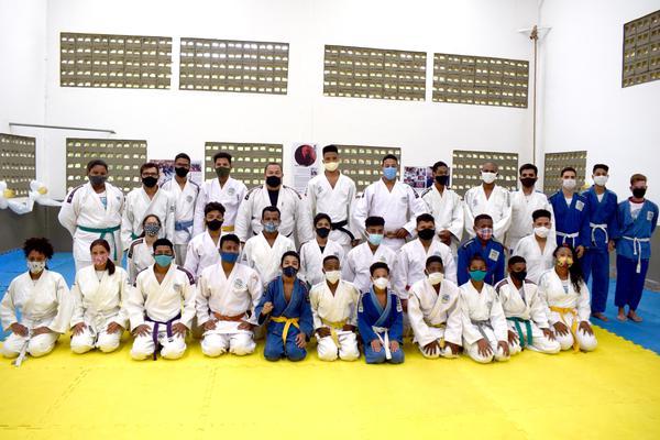 Judocas do Fórum Jaracaty competem no Circuito Maranhense