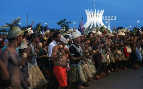 Marco Temporal os indígenas do MA na manifestação em Brasília