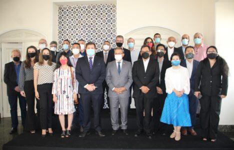 Apresentação dos produtos maranhenses para embaixadas asiáticas (Foto: Divulgação)
