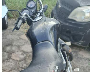 Homem é preso em moto roubada em Paço do Lumiar