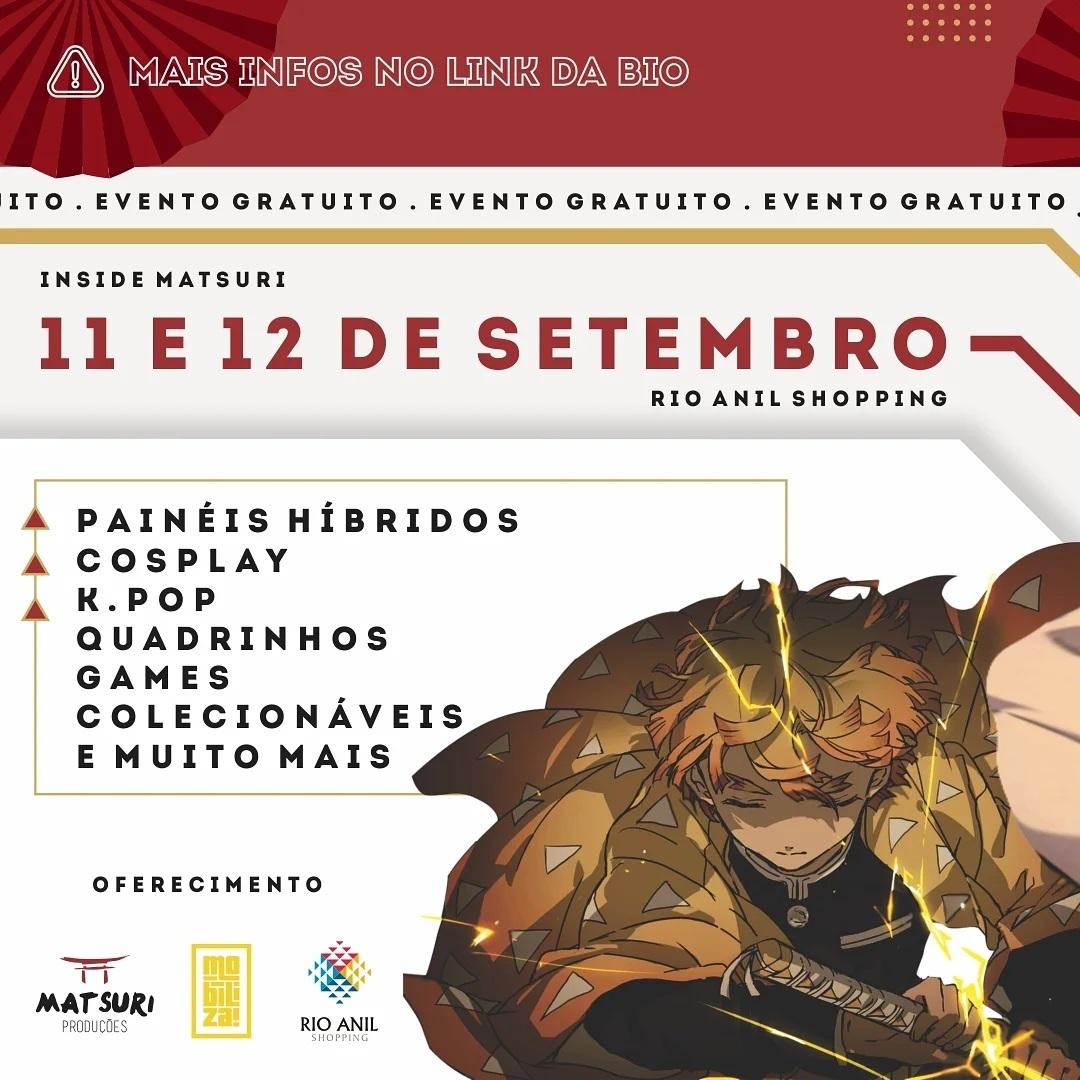Acontece em São Luís o evento INSIDE Matsuri trazendo a cultura pop, nerd e gamer