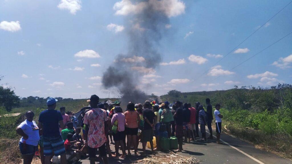 Homens armados invadem o território quilombola Tanque da Rodagem e São João para desmatamento do cerrado maranhense