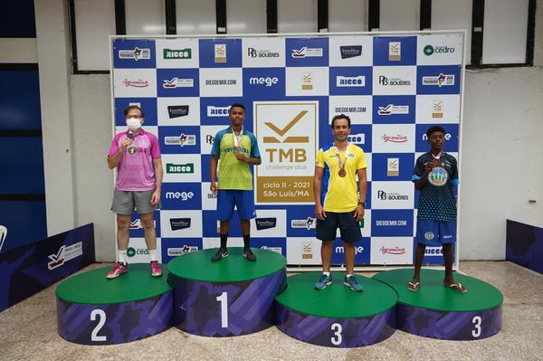 Tênis de Mesa: Fórum Jaracaty conquista duas medalhas em campeonato nacional