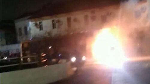 Segundo ônibus pega fogo em menos de uma semana em São Luís