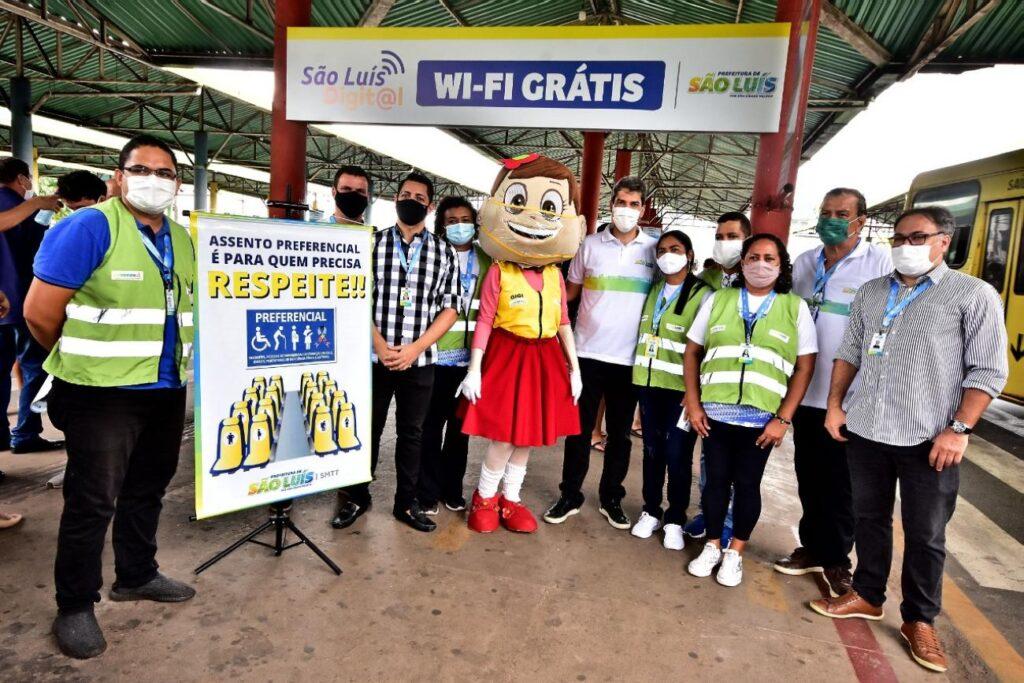 Prefeitura lança São Luís Digit@l com wi-fi grátis em todos os Terminais de Integração da cidade