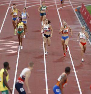 Revezamento 4x400 metros misto estreou no atletismo olímpico nos Jogos de Tóquio 2020. - Phil Noble/ Reuters / Direitos Reservados