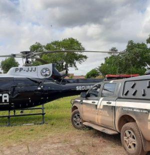 Polícia civil prende suspeito de crime de homicídio em Miranda do Norte